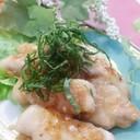 厚切り豚ロースの梅ダレ絡め焼き✴