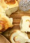 くるくる♪ハムとチーズのうず巻きパン