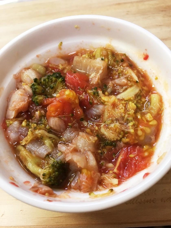 離乳食後期〜 たらのトマト煮込み