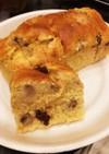 米粉のパウンドケーキ(バナナ&レーズン)