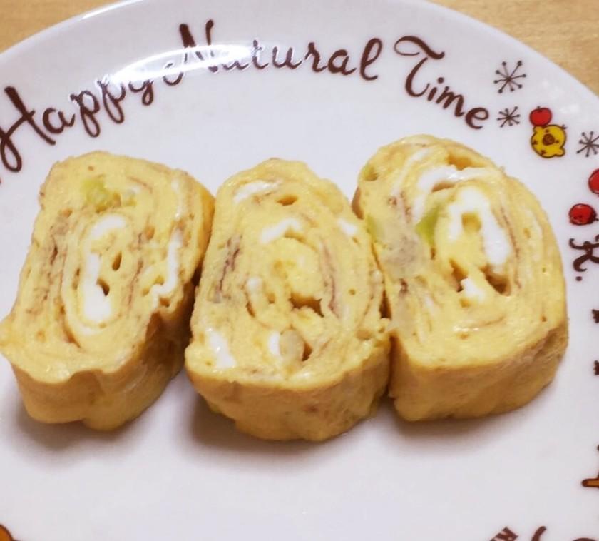 かつお節入りの卵焼き☆お弁当