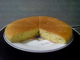 焼き方にコツ~大きなホットケーキ