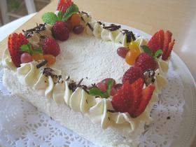 ジェリービーンの誕生日ケーキ