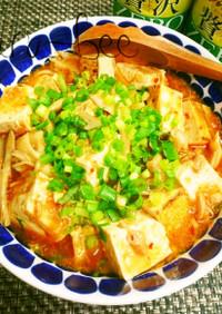 簡単ヘルシー♡和風ツナきのこ麻婆豆腐