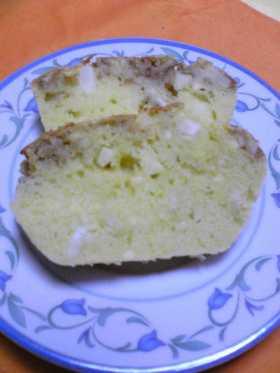 リンゴとサツマイモのパウンドケーキ