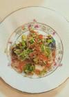 サワラのらっきよ野菜ソース
