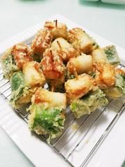 ちくわの天ぷら ~チーズ明太子詰め~の写真