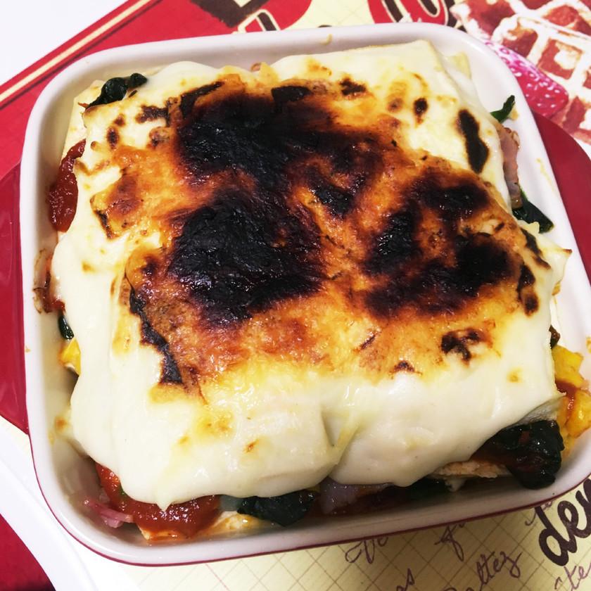ダイエットに✨豆腐のローカロリーラザニア