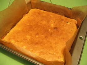 秋のパンプキンケーキ