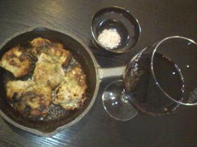 ワインに合う、鶏肉のにんにく焼き