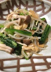 シャキシャキ*小松菜と安い野菜のおひたし