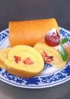 HKMで簡単☆ロールケーキ用スポンジ