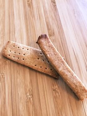 米粉で歯固めクッキー砂糖不使用