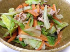 簡単副菜!春キャベツの和え物