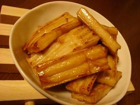 もちもち☆生麩のバター醤油焼き☆
