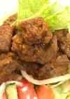 カレー風味 牛もも角切りサイコロステーキ