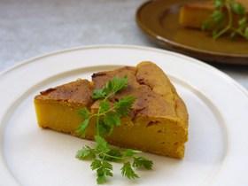 南瓜と豆腐のもっちりケーキ