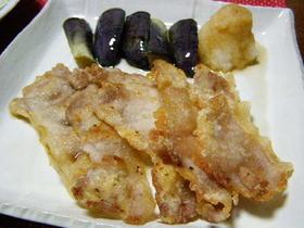 カリッカリ豚のおろしポン酢