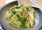 ☆セロリとひき肉の炒め物☆