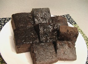 mikimさんのブラウニー風チョコケーキ