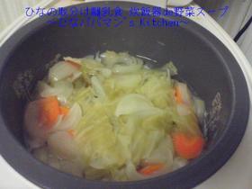 ひなの取分け離乳食 炊飯器de野菜スープ