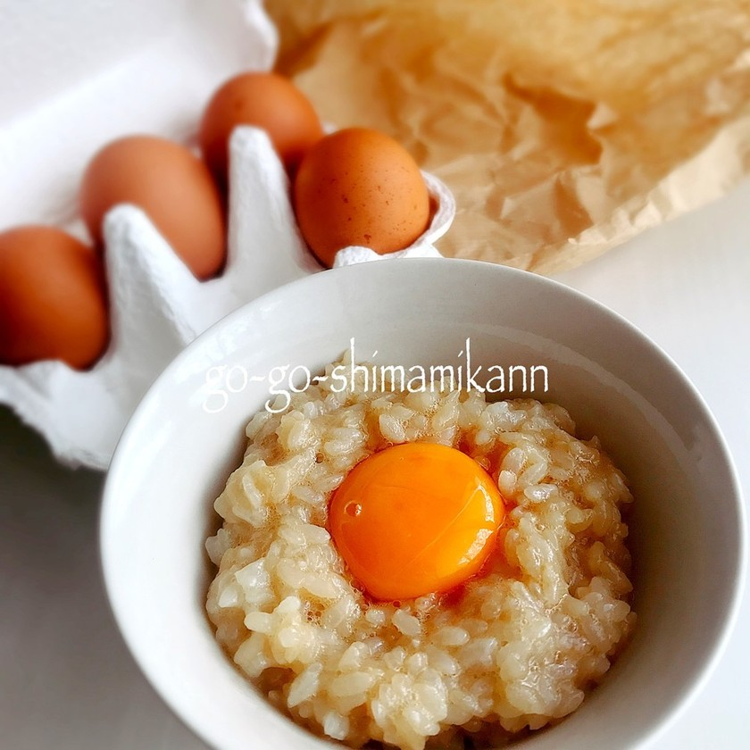 今んところ究極の卵かけご飯