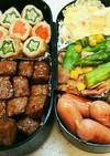 肉好き男子のお弁当4