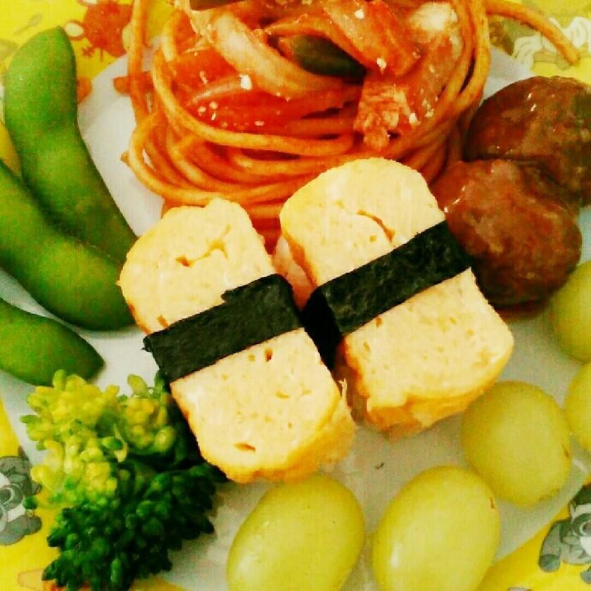 お弁当にも♪かわいい玉子のお寿司☆