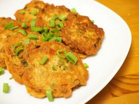 きんぴらリメイク!豆腐と野菜のチヂミ