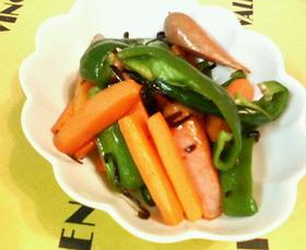 塩昆布で簡単♡ウィンナーと♥野菜炒め♡