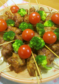 簡単♪美味しい♪豚肉の串揚げ