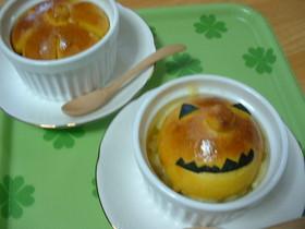 パンのせ豆乳かぼちゃグラタン