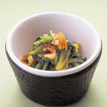 小松菜のキムチあえ