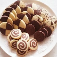 ☆アイスボックスクッキー(ココア)☆