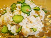 我が家の定番♡給食の鮭寿司の写真