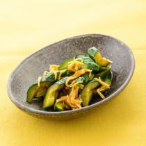 きゅうりと生姜の甘辛漬け