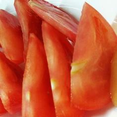 甘くないトマトに!はちみつトマト