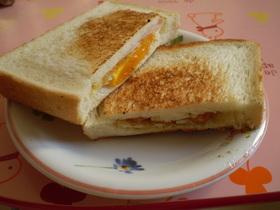 食パンで♡ポケットサンドイッチ