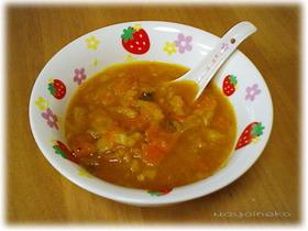 免疫力アップのトロトロ野菜スープ