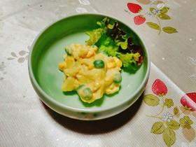ゆで卵の豆腐クリーム和え
