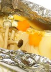 簡単!鱈のゆず味噌バターのホイル焼き