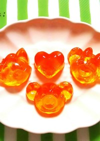 低糖質レシピ☆BCAAでグミキャンディー