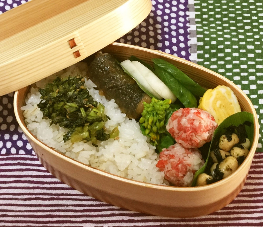 お弁当に☆材料1つ☆カニカマボール