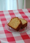 自家製ミルクキャラメルのパウンドケーキ