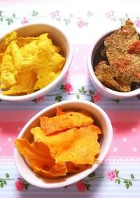 低糖質レシピ☆水切り不要!お豆腐チップス
