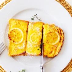 爽やかレモンフレンチトースト