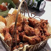 ピリ辛チキン&フライドポテト