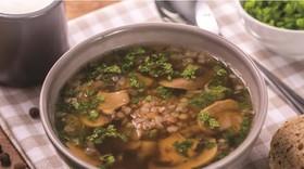 簡単☆そばの実スープ