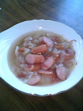 キャベツのコンソメスープ