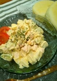 鶏胸肉とアボカドのタルタルサラダ